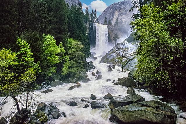Yosemite - Vernal Fall - 1986