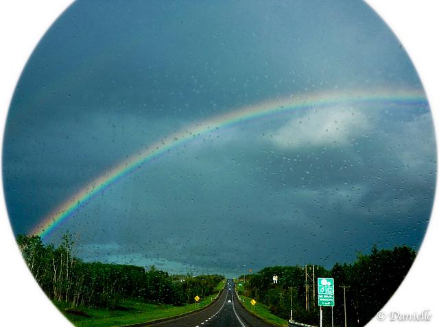 Après la pluie l'arc-en-ciel….