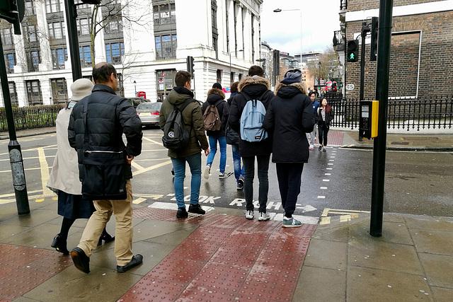 London 2018 – Green light