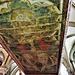 canterbury cathedral (105) trinity painting on canopy over c14 tomb of edward +1376 later known as the black prince