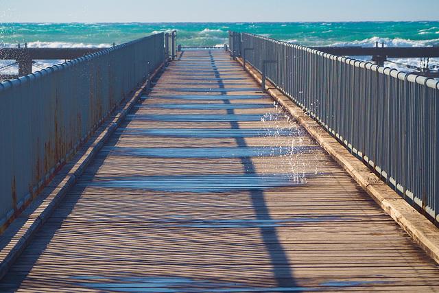 Wet pier
