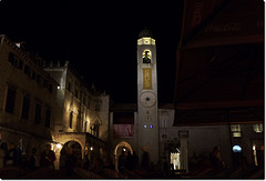 bell tower by night
