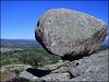 Could this massive granite boulder roll down and flatten La Cabrera town?
