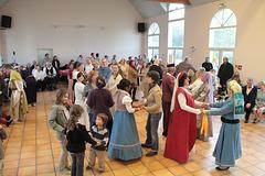 Bal renaissance à Blandy-les-Tours le 10 mai 2012
