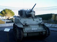 M5 A1 Stuart (1942), made in Canada.
