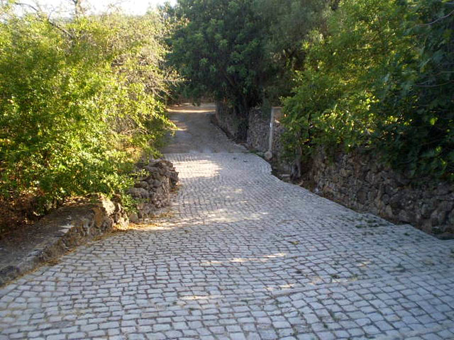 Ancient Roman road.