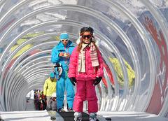 le métro de la neige à SAMOËNS