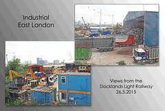 Recycling at Leamouth - East London - 26.5.2015