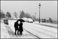 Montmartre sous la neige (VIII)