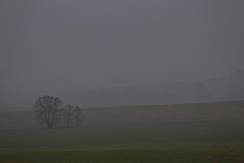Weit wär der Blick, wenn der Nebel nicht wär.