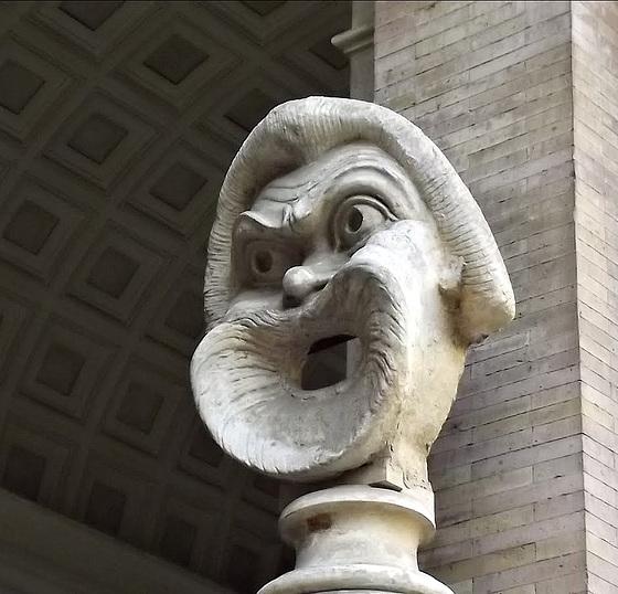 Big mouth guy, Bocca della Verità