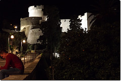 Fort Minceta by night