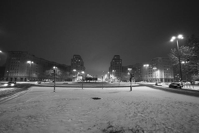 erster Schnee...