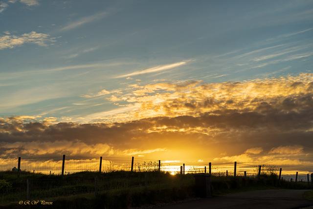 Western Isles Sunset. HFF