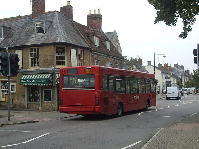 DSCF4876 Redline Buses KF52 NBM in Olney - 25 Aug 2016