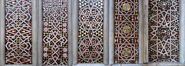 Mosaic panels, Arabic style