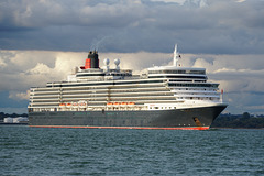 QUEEN ELIZABETH sailing from Southampton
