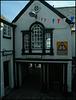 tight corner at Lyme Regis