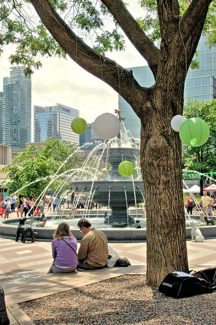 Berczy Park, Toronto