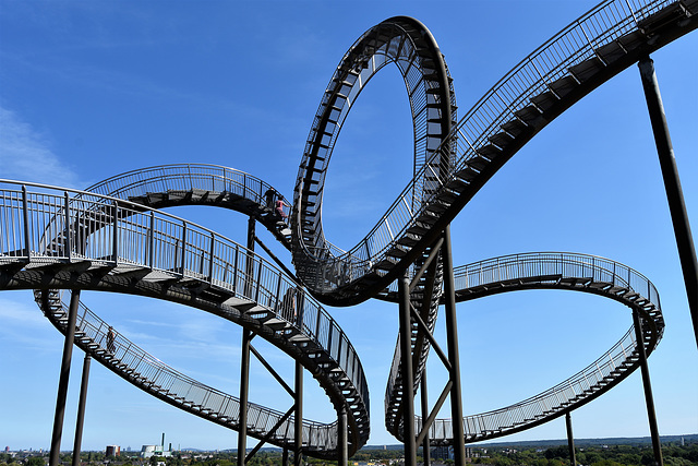 Tiger & Turtle, Duisburg.  Lots of fences here!