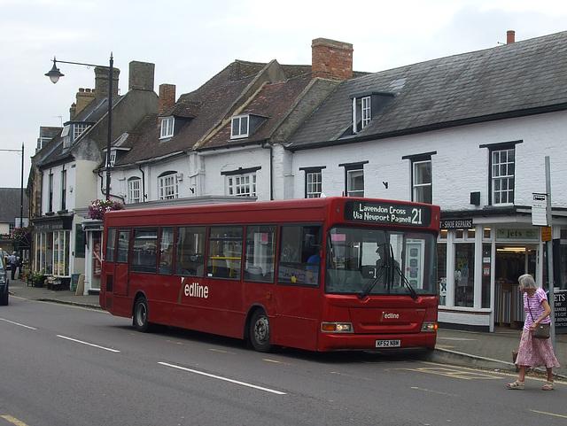 DSCF4873 Redline Buses KF52 NBM in Olney - 25 Aug 2016