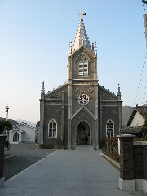 Amakusa Sakitsu Catholic Church 02 Built in 1934
