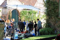 Le tournage du film avec Jean Dujardin a débuté aujourd'hui dans les rues de Gerberoy Le tournage du nouveau film de Laurent Tirard a débuté ce matin. Techniciens et vedettes dont Jean Dujardin, ont pris possession du village.
