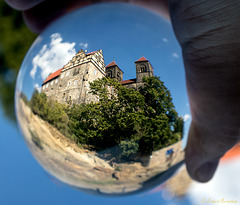 Quedlinburg - Schloss in Kugel 2