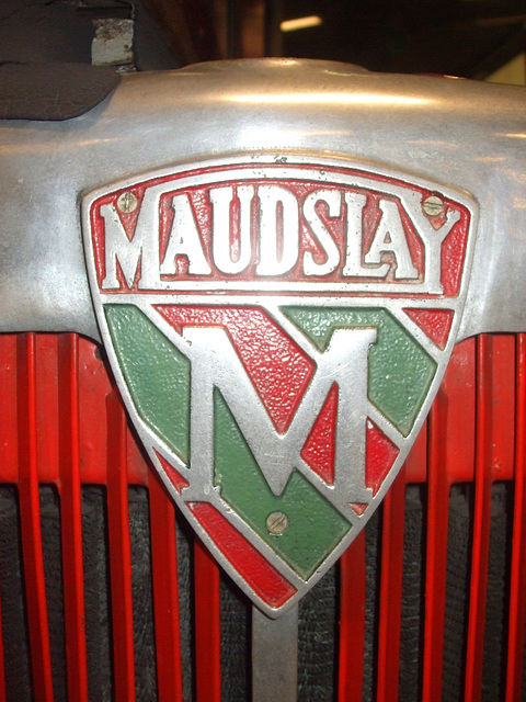 DSCF0389 Maudslay Motors radiator badge