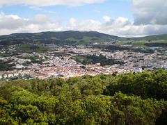 View over Angra do Heroísmo.