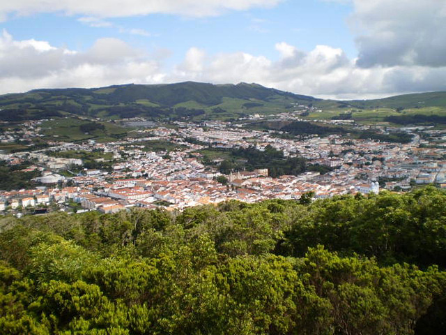View over Angra do Heroísmo.