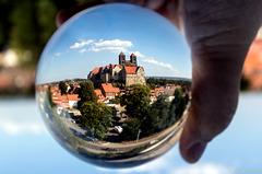 Quedlinburg - Schloss in Kugel 1