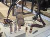 MUCEM : Artisanat du bois et du cuir.
