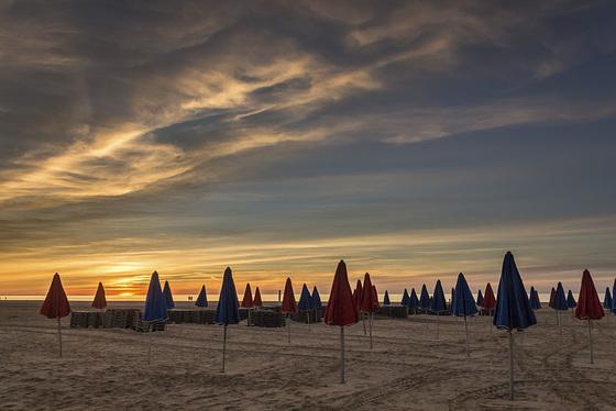 Les parapluies de Deauville