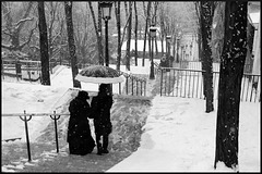 Montmartre sous la neige (XII)