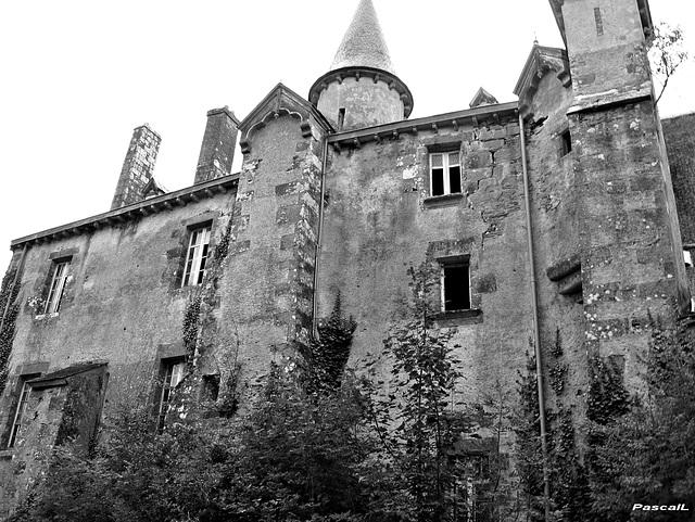 le chateau hanté !