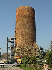 Rothenklempenow, Bergfried  ... HFF !