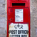 Edward VIII Postbox Converted to George VI