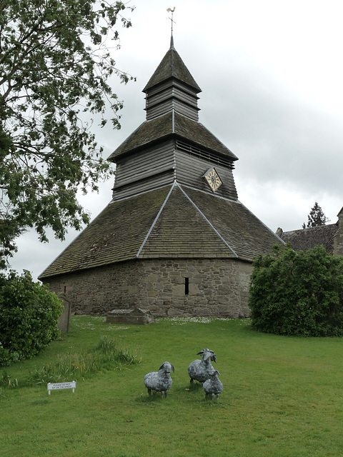 Pembridge- Detached Bell Tower at St Mary the Virgin Church