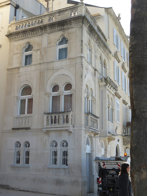 Split : architecture vénitienne sur la Riva.