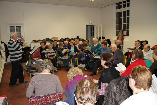 Répétition à Chaumes-en-Brie le 22 novembre 2012