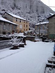 L'hiver est encore bien là ....