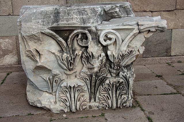 20151207 9805VRAw [R~TR] Trajans Tempel, Pergamon, Bergama