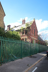 Former Welsh Presbyterian Suday School, Gibson Road and Upper Hill Street, Toxteth, Liverpool