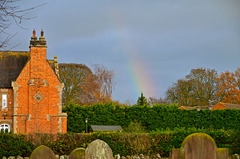 Rainbow near Gnosall
