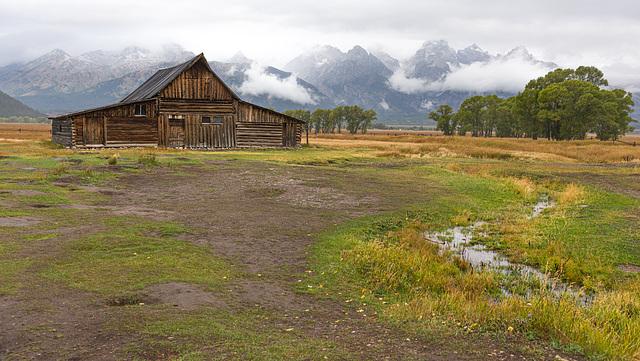 Moulton Barn, parc du Grand Teton