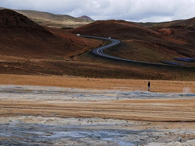 ISLANDE : solfatares de la région de Myvatn