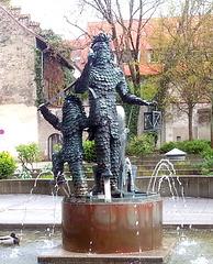 Blätzlebrunnen (Narrenbrunnen)