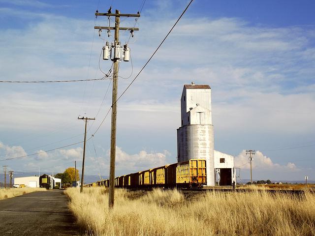 Railroad landscape