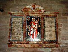 War Memorial, Eastnor Church, Herefordshire